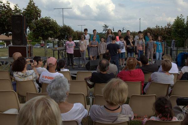 Chorale Jazz CM1-CM2, école primaire, Le Tourne