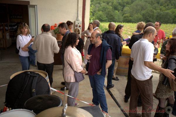 Festival JAZZ360 2012, dégustation offerte par le Château Roquebrune, Cénac, samedi 9 juin 2012