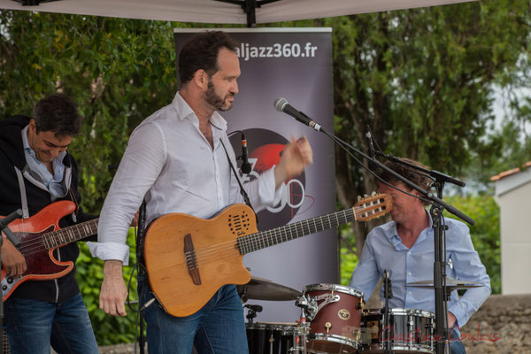 Nicolas Mirande, Jean Lassallette, Christophe Léon Schelstraete, Taldea Group. Festival JAZZ360 2016, Quinsac