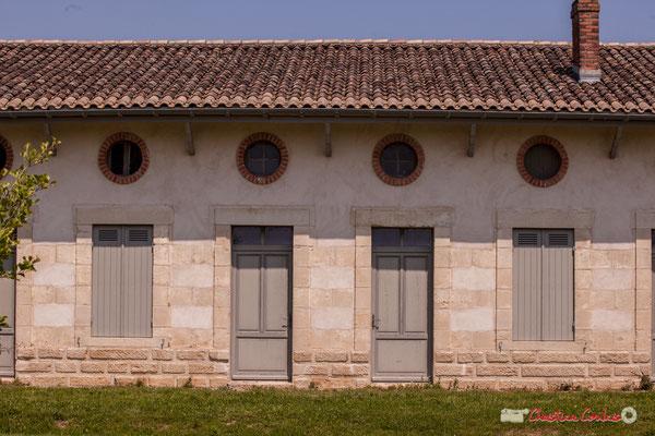 Logements des ouvriers agricoles. Village Sans-Pain, Île Nouvelle, Gironde. 06/05/2018