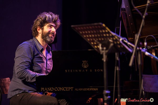 "Benjamin Moussey; Louis Sclavis Quartet ""Characters on a wall"". Festival JAZZ360 2018, Cénac. 08/06/2018"