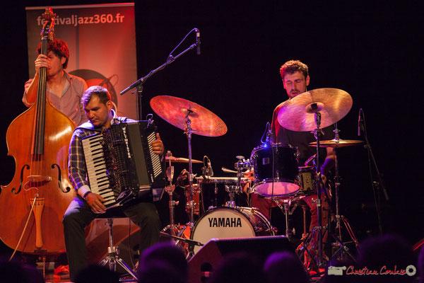 Eym Trio; Yann Phayphet, Marian Badoï, Marc Michel. Festival JAZZ360, 09/06/2017