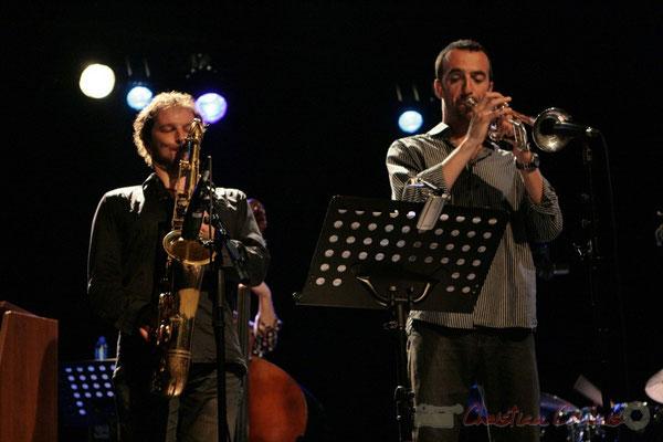 Frédéric Borey, Sylvain Gontard; Roger Biwandu Quintet, Festival JAZZ360, Cénac 03/06/2011