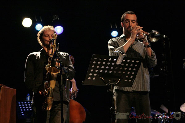 Frédéric Borey, Sylvain Gontard; Roger Biwandu Quintet, Festival JAZZ360 2011, Cénac. 03/06/2011