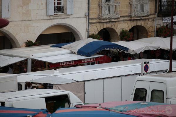 Chevaline, tradition bouchère en cours d'extinction. Marché de Créon, Gironde