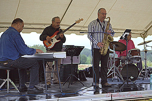 Francis Fontès, Dominique Bonadei, Hervé Fourticq, Philippe Valentine; Affinity Quartet, Festival JAZZ360 2012, Quinsac, dimanche 10 juin 2012