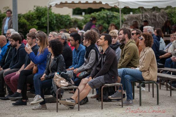 Un public toujours aussi nombreux à Quinsac, qu'il pleuve ou qu'il fasse beau. Festival JAZZ360 2016