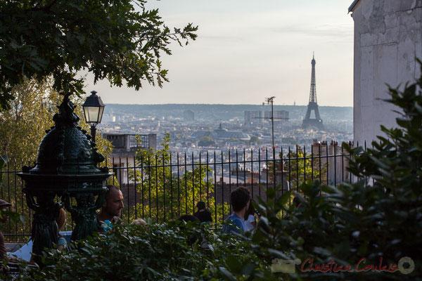 Rue Azaïs, Square Nadar, Paris 18ème arrondisement