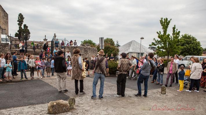 Ouverture par la fanfare afro-jazz Elephant Brass Machine du 7ème Festival Jazz360 2016, Cénac, 10/06/2016