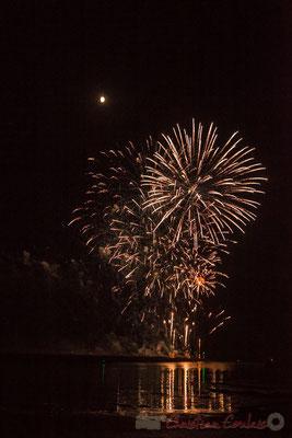14 juillet 2016, spectacle pyrotechnique signé Jacques Couturier Organisation, Saint-Gilles-Croix-de-Vie, Vendée, Pays de la Loire
