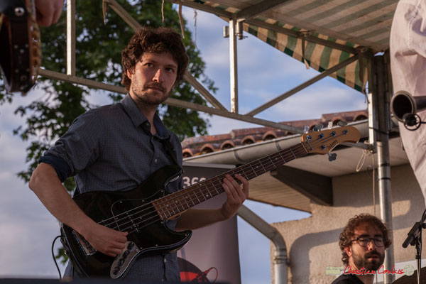Le regard de Gaspard Colin; Oggy & The Phonics. Festival JAZZ360 2018, Langoiran. 07/06/2018