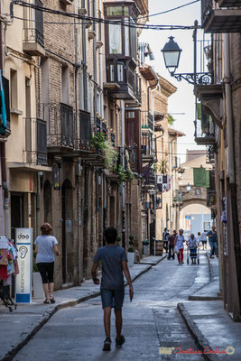 Calle Rúa Mayor, Olite, Navarra