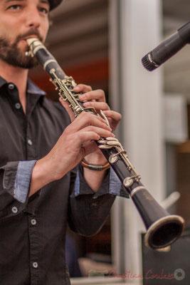 Denis Girault, Louisiana Jazz Duo. Festival JAZZ360 2016, restaurant les Acacias, Cénac