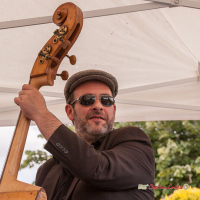 Olivier Cherbit; Swing Home Trio. Festival JAZZ3602019, Camblanes-et-Meynac. 08/06/2019