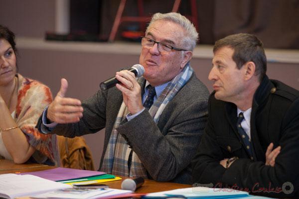 Jean-Marie Darmian, Vice-président du Conseil départemental; Thierry Suquet, Secrétaire général de la Préfecture de la Gironde,