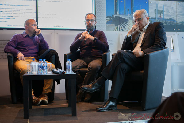 François Menet-Haure, Yohann Didier, Robert Lafore, Cap Sciences, Bordeaux