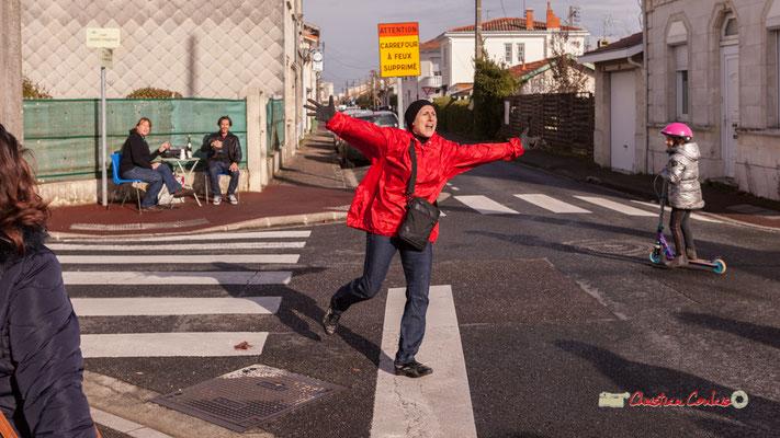 """""""Au carrefour des vies"""". Sarah Fréby; Regards en biais, Cie La Hurlante, Hors Jeu / En Jeu, Mérignac. Samedi 24 novembre 2018"""