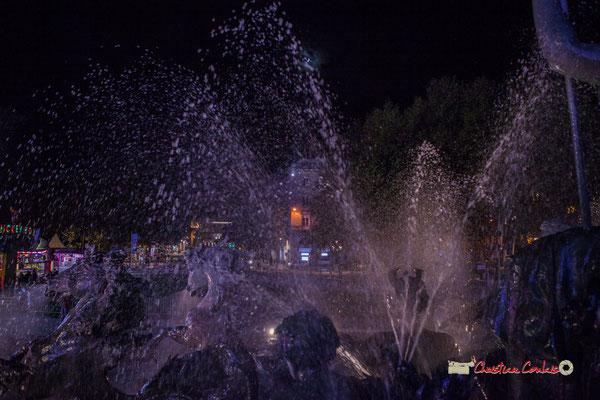 Bassin le triomphe de la République, Monument aux Girondins. Bordeaux, mercredi 17 octobre 2018