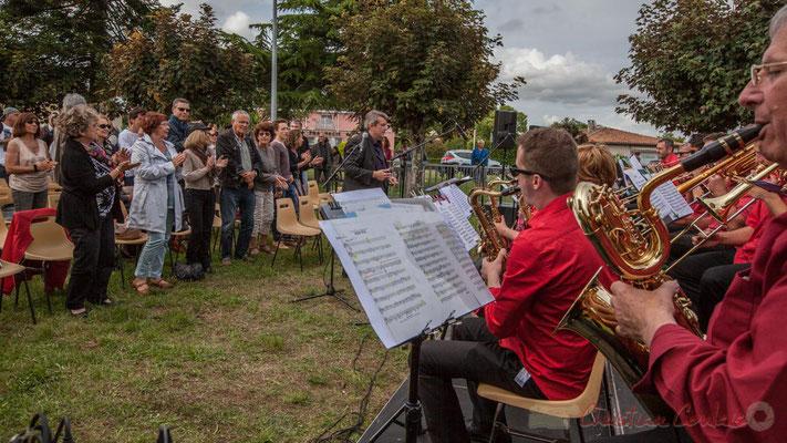 Big Band Jazz de l'école de musique de Cenon, dirigé par Franck Dijeau. Festival JAZZ360 2016, Cénac