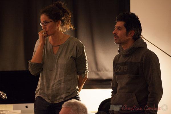 Pascale Martinez, Guillaume Thevenin. Le Rocher de Palmer, 12/12/2015. Reproduction interdite - Tous droits réservés © Christian Coulais