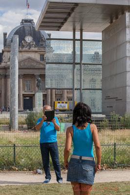 Ecole Militaire, Mur de la Paix, Paris  7ème