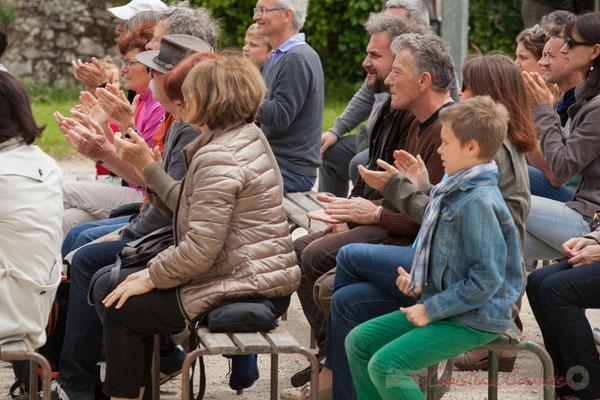 Un public conquis par Taldea Group. Festival JAZZ360 2016, Quinsac, 12/06/2016