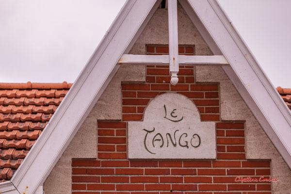 Villa le Tango, Soulac-sur-Mer. Samedi 3 juillet 2021. Photographie © Christian Coulais