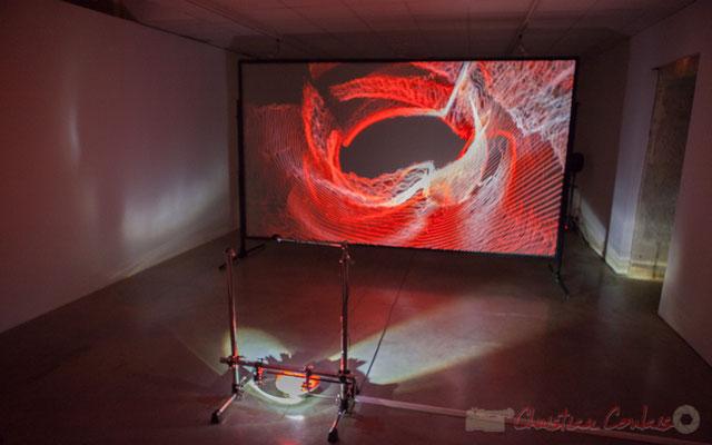 4 Frack. Sandra et Gaspard Bébié-Valérian, en coopération avec Thierry Guibert. Octobre numérique, Espace van Gogh, Arles