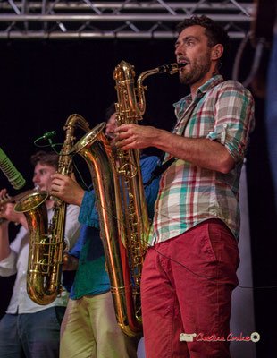 Brice Matha; le Parti Collectif. Festival JAZZ360 2019, Latresne, 09/06/2019