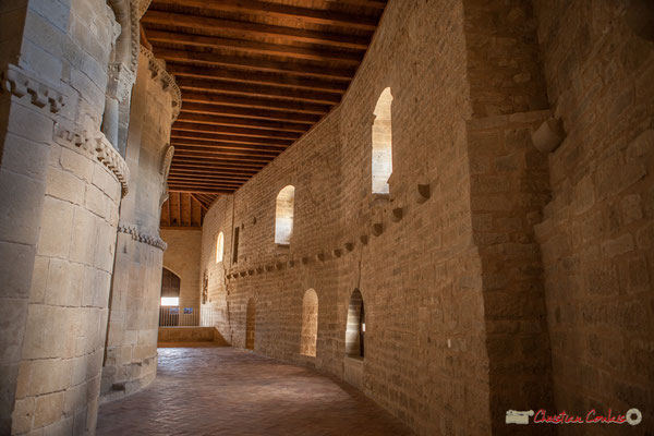 Absides romanes du Sanctuaire-Forteresse de Santa María de Ujué / Apsos románicos del Santuario-Fortaleza de Santa María de Ujué, Navarra