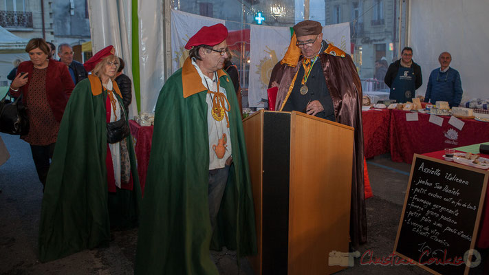 Alain Darmian, Grand Maître Cruchot, Confrérie de la Cruche Sadiracaise, Jean-Marie Darmian, Maitre Cagouillard