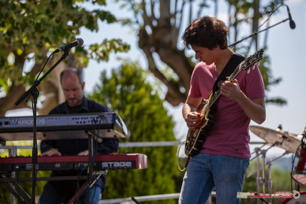 Christophe de Miras, Tom Ibarra; Tom Ibarra Group. Festival JAZZ360, 10 juin 2017, Camblanes-et-Meynac