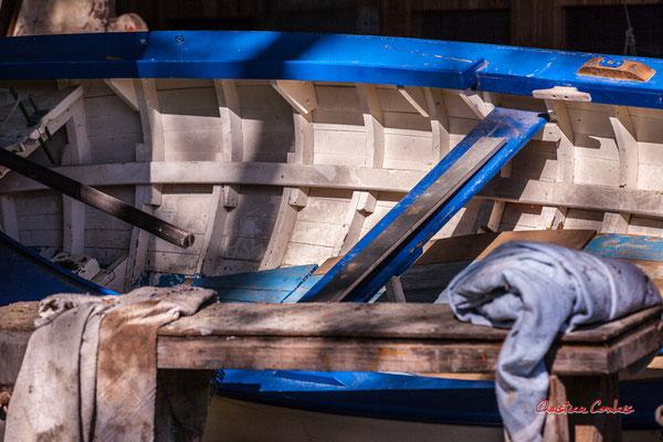 """""""Bleu, blanc, bois"""" Chantiers Tramasset, le Tourne, samedi 24 avril 2021. Photographie © Christian Coulais"""