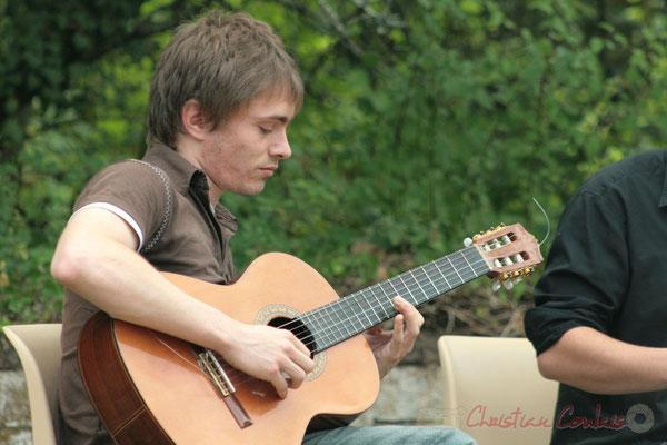 Mathias Monseigne. Randonnée Jazzy organisée par A.L.I.C.E., Citon-Cénac. 04/06/2011