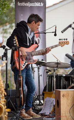 Nicolas Mirande, Taldea Group, Festival JAZZ360 2016, Quinsac, 12/06/2016