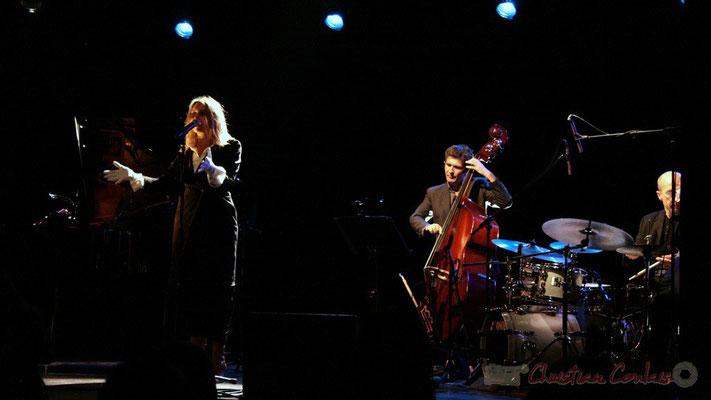 Lo Jay, Christophe Jodet, Pascal Legrand; Lo Jay et Serge Moulinier Trio. Festival JAZZ360 2010, Cénac. 12/05/2010