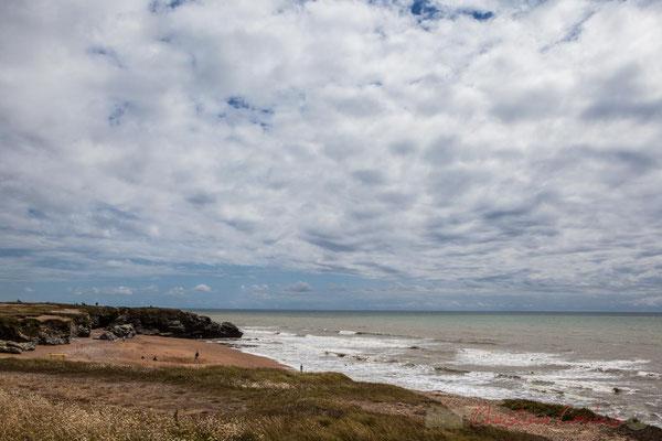 La Grande Anse, Corniche vendéenne, Vendée, Pays de la Loire