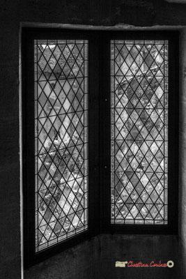 Intérieur de la tour polygonale XVIème siècle. Cité médiévale de Saint-Macaire. 28/09/2019. Photographie © Christian Coulais