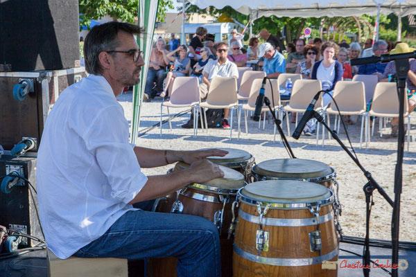 Jean-Marc Pierna, Gaétan Diaz Quintet. Festival JAZZ360, 10 juin 2017, Cénac