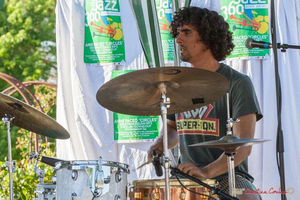 Gaétan Diaz, Gaétan Diaz Quintet. Festival JAZZ360, 10 juin 2017, Cénac