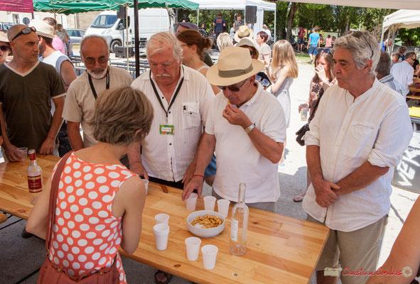 """""""Avec ou sans cacahuète ?"""" Vin d'Honneur offert par la Mairie de Quinsac, Festival JAZZ360, 11/06/2017"""