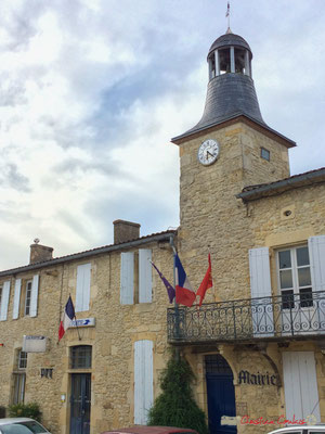 Hôtel de ville de Pellegrue, 8 juin 2017