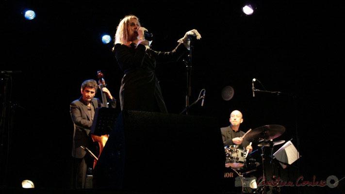 Christophe Jodet, Lo Jay, Pascal Legrand; Lo Jay et Serge Moulinier Trio. Festival JAZZ360 2010, Cénac. 12/05/2010