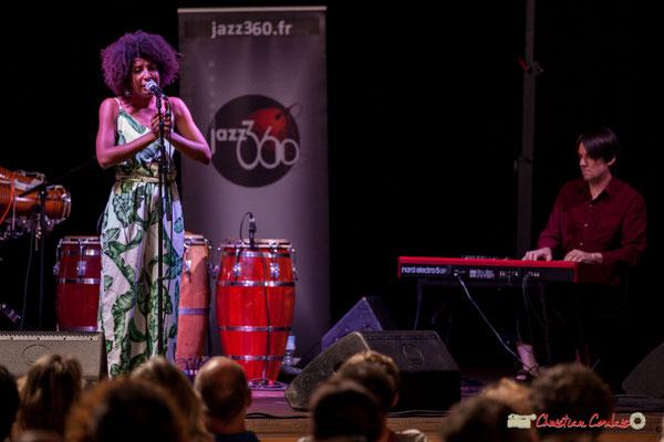 Mayomi Moreno, Michaël Geyre; Mayomi Moreno Project. Festival JAZZ360 2018, Latresne. 10/06/2018
