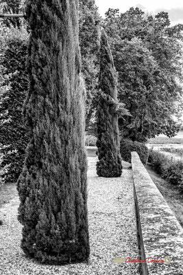 Terrasse Sud, Domaine de Malagar. Centre François Mauriac, Saint-Maixant. 28/09/2019 Reproduction interdite - Tous droits réservés © Christian Coulais