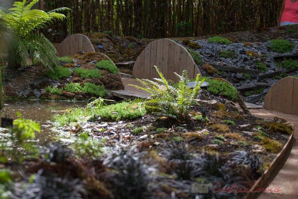 Silence ! ça mousse; Chloé Ricou, paysagiste DPLG; Agathe Le Mire, paysagiste; Florian Dubos, jardinier-botaniste; France