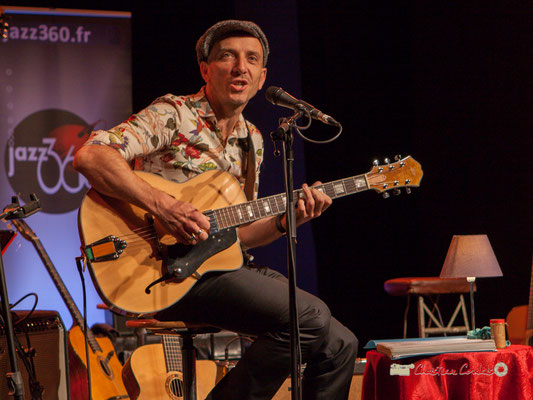 Rix (Eric Delsaux); The Rix'tet, soirée club JAZZ360, Cénac. 05/10/2019
