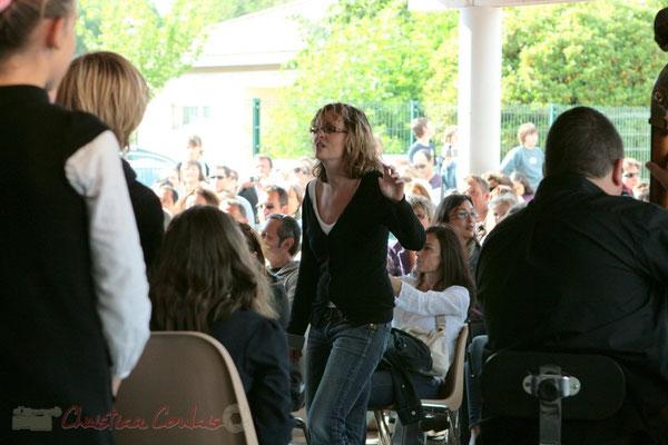 JazzEcole avec les classes de Quinsac, Sadirac, Lorient, Cénac. Festival JAZZ360, Cénac. 01/06/2011
