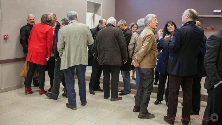 Près d'une cinquantaine d'élus locaux étaient présents lors de l'assemblée générale partagée avec Haux et Tabanac.