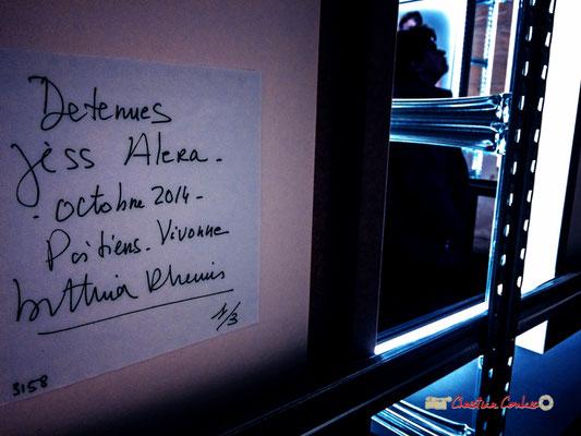 """""""Regard de femme"""" """"Détenues"""" exposition photographique de Bettina Rheims. Château de Cadillac, Centre des Monuments Nationaux. Photographe : Christian Coulais. 04/11/2018"""